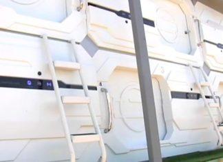 hotel capsula para conciertos