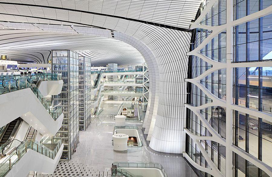 Zaha Hadid Architects diseña el nuevo aeropuerto de Beijing