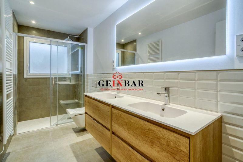 Baño piso de lujo en Sarria Barcelona