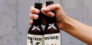 mustache cerveza