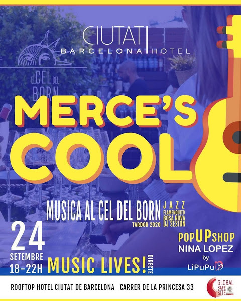 Merce´s Cool, musica y pop up shop de Nina López by LiPuPu en el Cel del Born