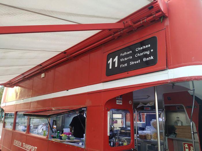 Bus Terraza Barcelona - Cocina