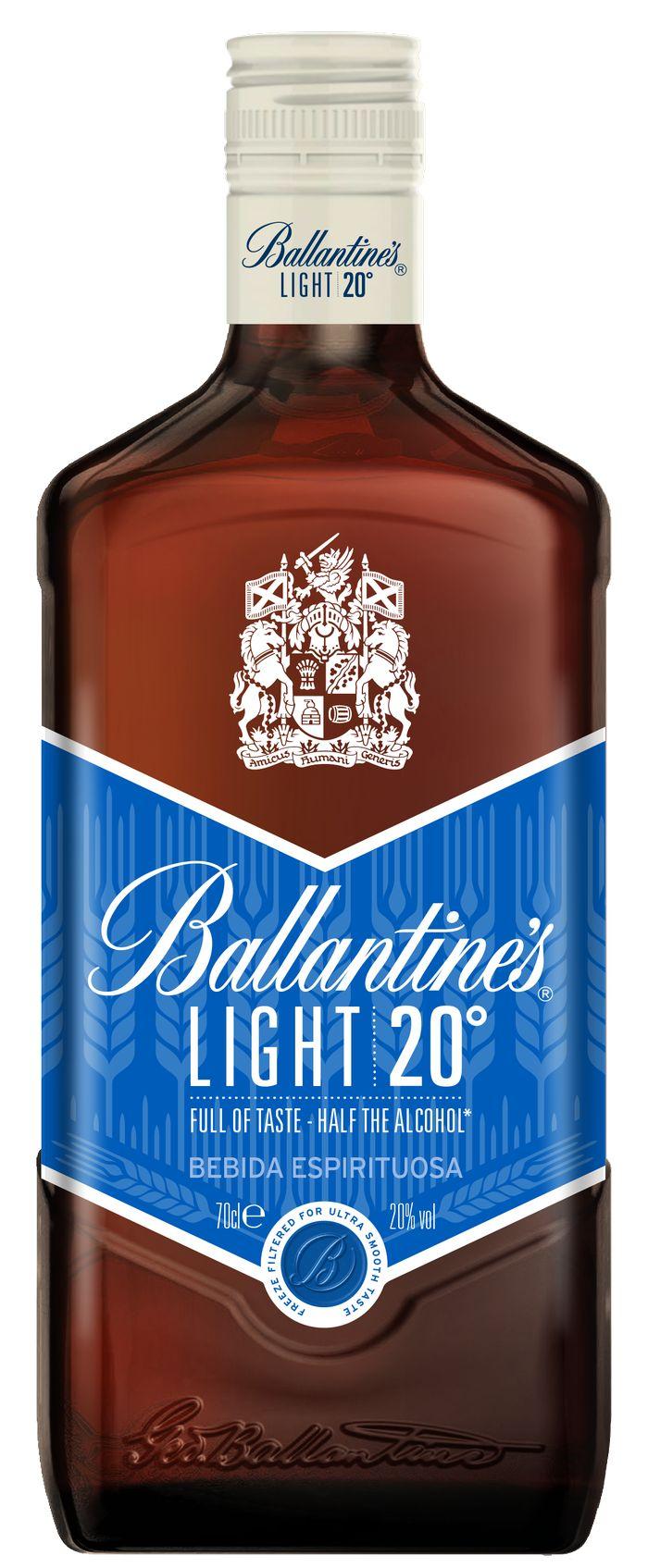 BALLANTINE´S LIGHT, un whisky bajo en alcohol