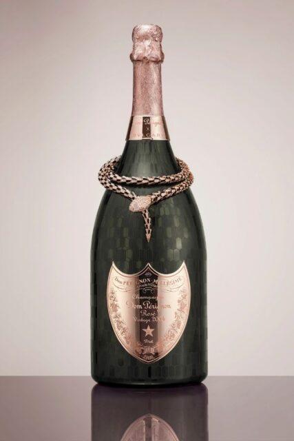 Champagne Dom Perignon x Bvlgari Limited Edition Vintage Rosé 2004