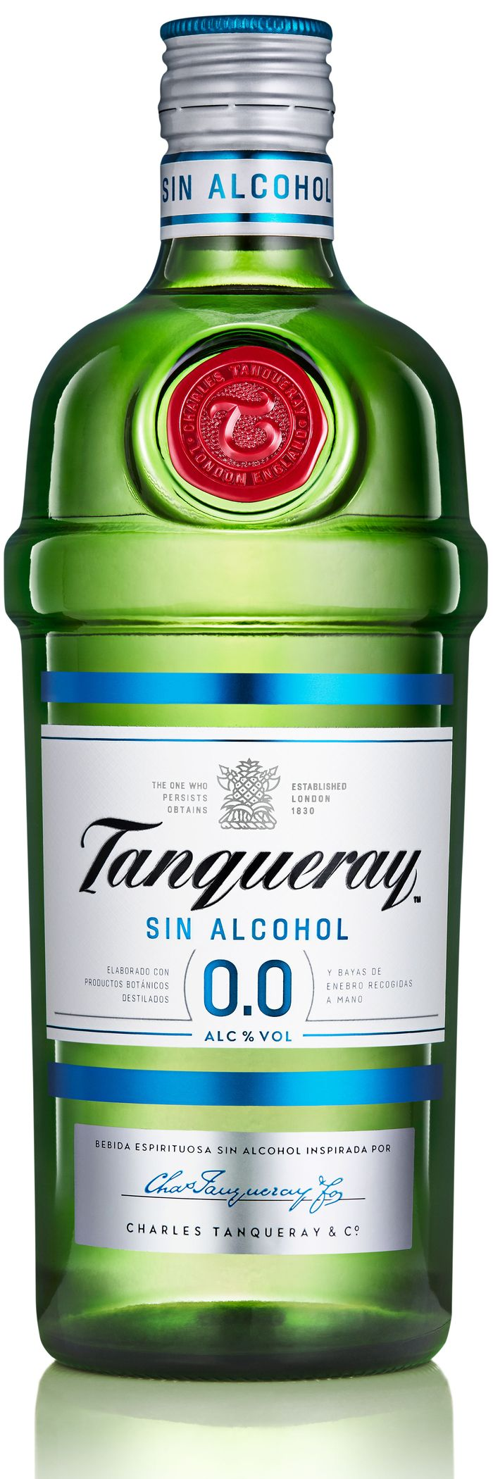 Ginebra Tanqueray 0.0%