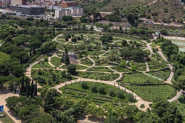 Parque de Cervantes - Pedralbes