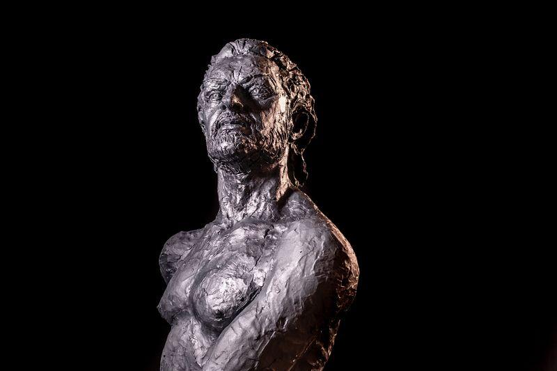 Escultura de Rafael Amargo de Jorge Egea