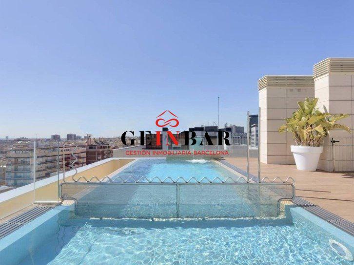 Piso con piscina en venta Les Corts gv614
