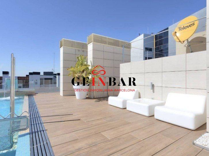 Piso de obra nueva con piscina en Les Corts - GV615 - Geinbar