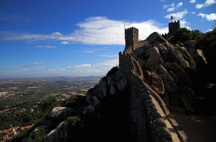 Sintra - Castillo de los Moros